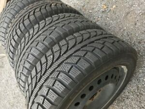 4 Champiro Ice Pro Studdable 205/55 R16 Winter Tires- On Rims, L