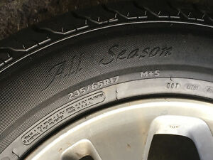 Grand new all season tires and rims