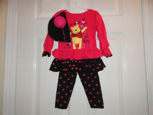 Baby Girls' Outfits - Size 6-12 months, 12 months & 24 months