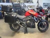 TRIUMPH TIGER EXPLORER XRT 1200 RED 22585 MILES FULL LUGGAGE