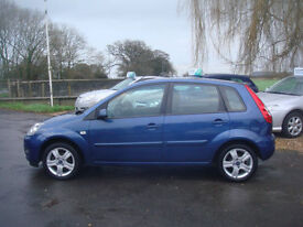 Ford Fiesta 1.4TDCi 2006.5MY Zetec Climate GUARANTEED CAR FINANCE