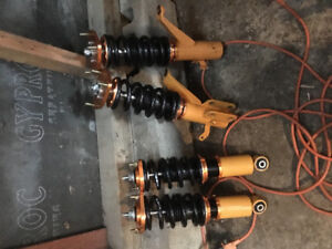 Suspension coilover honda civic si2005