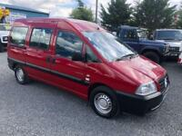 Citroen Dispatch 1.9 desel 5 seat wheelchair accessible vehicle