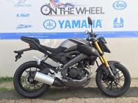 2016 YAMAHA MT-125 ABS MATT GREY, BRAND NEW! ON THE ROAD