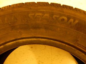 Two All season tires 215/60 R16 London Ontario image 3