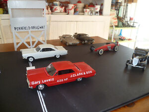 I'm looking for old scale Model Kits.Pennfield Dragway Project