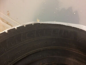 Ice Michelin winter tires