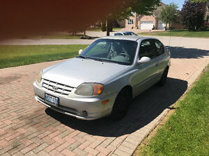 2004 Hyundai Accent Coupe GS | $999 OBO | Great Reliable Car