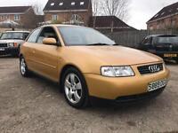 Audi A3 1.8 T Sport 3 DOOR - 1998 S-REG - NO MOT