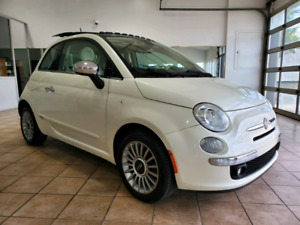 Fiat 500 Automatique 2012 Toit Cuir Finance Garantie 6995$