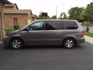 2000 Honda Odyssey Priced for Quick Sale