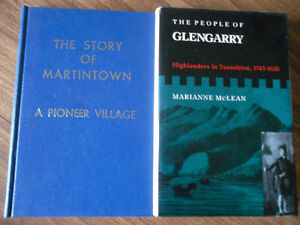 local history - Glengarry County - Martintown