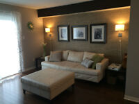 Furnished 2 Bedroom + den close to Transit - Flexible Terms