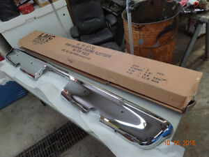 1967-72 Chevy Truck Chrome Rear Bumper w cut outs for exhaust Strathcona County Edmonton Area image 7