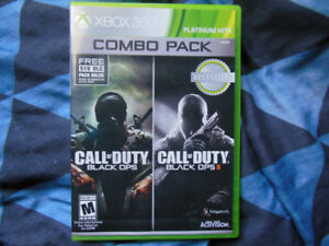 Call Of Duty Black Ops 1 & 2 Combo Pack Xbox 360