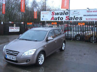 2008 KIA CEED LS 1.6L ONLY 51,231 MILES FULL SERVICE HISTORY