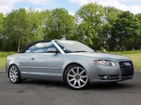 Audi A4 Cabriolet 2.0 TDI S Line Multitronic 2dr (silver) 2007