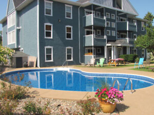 Main Floor 2-Bedroom Condo with a Swimming Pool Bedford