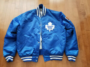 Toronto Maple Leafs Vintage Hockey Button Jacket