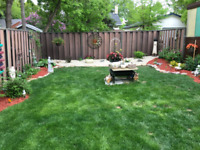 Low cost landscaping