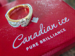 Ring, Coveted Canadian Diamonds! REASONABLE OFFERS CONSIDERED!