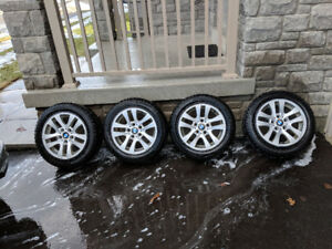 3 Series OEM BMW E90 Rims and Winter Tires