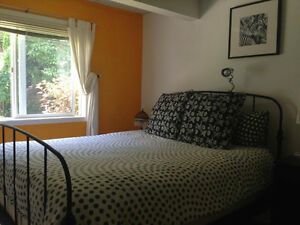 Fully furnished 1 bedroom apartment, garden suite