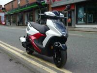 Sym FNX 125 125cc learner legal scooter, moped great commuter,5 year warranty...