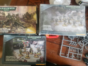 Warhammer 40k space marines and imperial guard