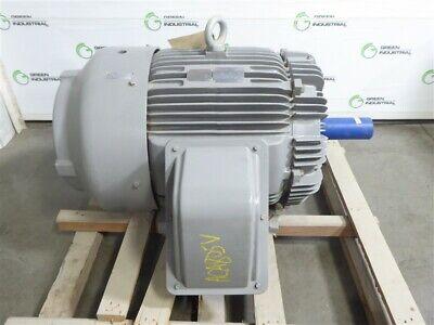 Surplus 75 Hp 444t Frame Teco Westinghouse E0758r Electric Motor 230460 885 Rpm