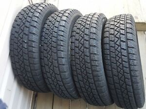 4 winter tires 205/75/14 Arctic Claw TXI with 95% tread