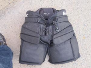 Junior Goalie Pants Size Large (RBK 18K)