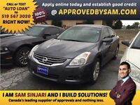 "CAR LOANS MADE EASY - ALTIMA - TEXT ""AUTO LOAN"" TO 519 567 3020"