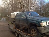 Toyota hilux pickups wanted (4x4, diesel, 2wd) any condition