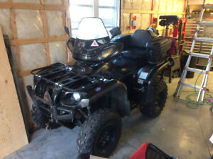 4 roues grizzly 660