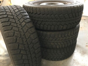 WINTER RIMS AND TIRES FOR SALE 5X110