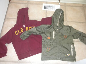 Boyssize 6X fall jacket and hoodie Lot 1