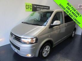 Volkswagen Transporter T5 2.0TDI SWB CREW CAB T30 Highline BUY FOR £69 A WEEK
