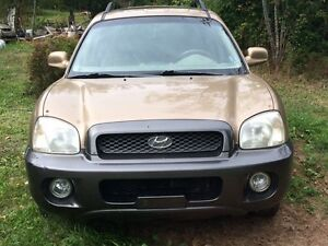 2004 Hyundai Santa Fe PARTS CAR