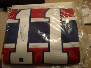 Brandon Gallagher signed Montreal Canadians Jersey