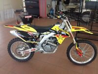 Fuel injected rmz450