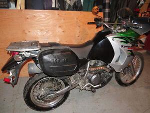 moto kawasaki klr 650 cc    2008
