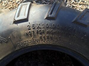 4 new atv tires for sale