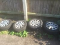 Vw golf , touran , Jetta alloy wheels