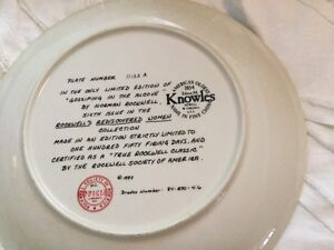 Collections d'Assiettes Norman Rockwell Plates Gatineau Ottawa / Gatineau Area image 4