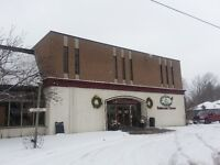 Commercial Space for Rent in Balderson!