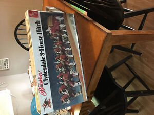 AMT Budweiser Clydesdale 8-Horse Hitch model. STILL SEALED