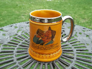 Lord Nelson Pottery vintage Steined Mug made in England