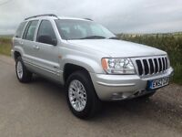 Jeep Grand Cherokee 2.7 Crd Limited AUTOMATIC 2003 4x4