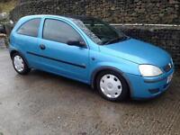 Vauxhall/Opel Corsa 1.0 2004MY Life